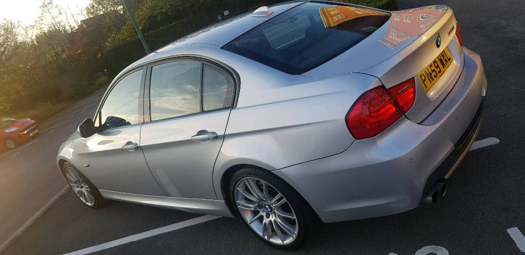 2009 59 BMW 330D 3 Series M Sport LCI Facelift Silver Saloon 4 Door Manual  | in Wakefield, West Yorkshire | Gumtree