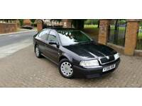 For sale my Skoda October 10 months MOT manual 5 speed