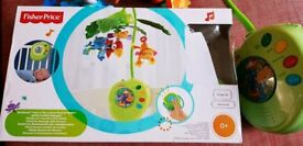 Fisher price Rainforest Peekaboo leaves musical mobile