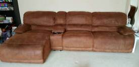 8 pcs Harvey's sofa with 3 recliners