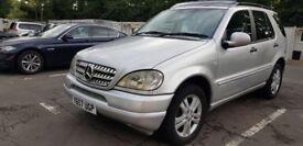 Mercedes ML320 LPG 7 Seater