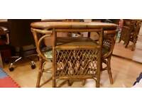 Beautiful set of bamboo made Table and Chairs