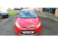 2010 Ford fiesta zetec 1388cc.1 owner.mot may 2019.fsh.