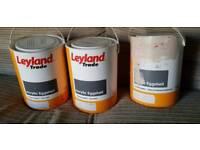 Leyland trade paint