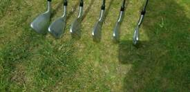 Taylormade M1 Stiff irons xp95 shafts 5 to Pw