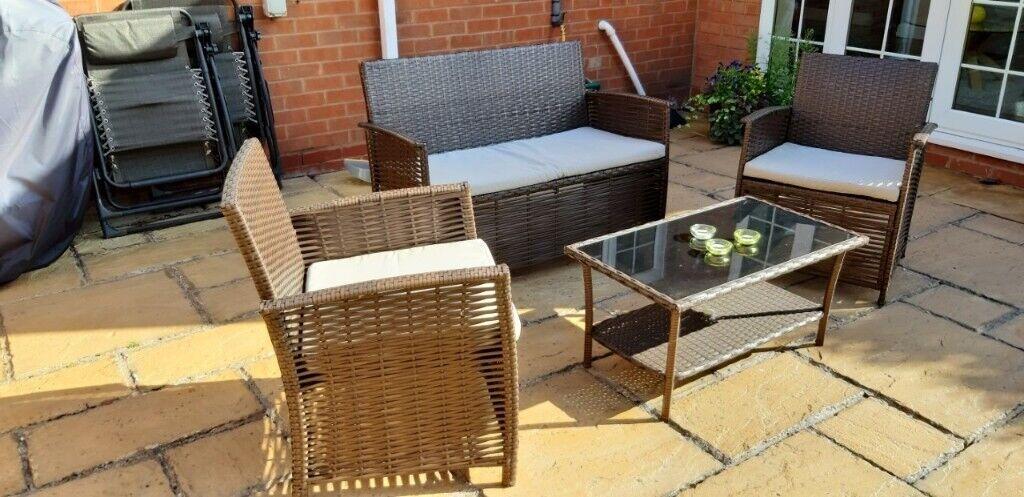 Stupendous Patio Set In Birmingham West Midlands Gumtree Home Interior And Landscaping Ologienasavecom