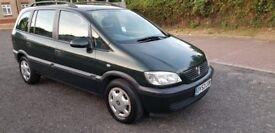 2002 Vauxhall Zafira 1.8 i 16v Comfort 5dr Auto @07445775115
