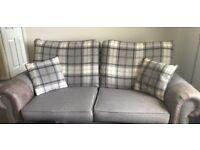 3 Seater Sofa, Chair & Footstool