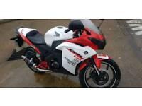 Honda Cbr125r 125cc swaps