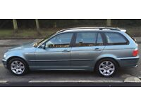BMW 316i Touring 2003 petrol. lovely clean reliable car, everything works All 4 keys Leather book