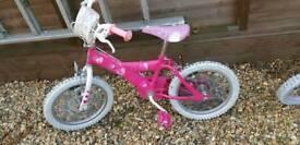 Girl bicycle barbie children bike