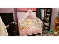 Hello kitty cot bed