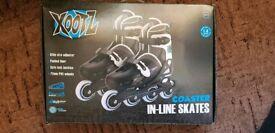 Xootz Boy's Inline Skates Adjustable and Padded Roller Blades