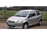 TOYOTA YARIS 1.0L 2004 1 OWNER MOT TILL2/8/2019 77000 MILES 15 SERVICE HPI CLEAR EXCELLENT CONDITION