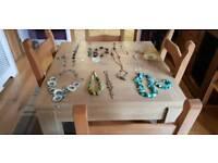 Jewellery bundle car boot necklace bracelet earrings