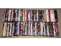 Over 100 DVDs boxed and original including box sets