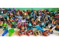 Nintendo Wii plus 112 Skylander accessories