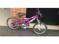 Girls 6 gear mountain bike