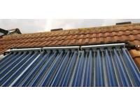 Solar thermal/ hot water services