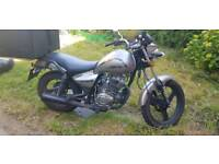 Zontes tiger 125cc cruiser style geared