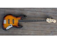 Squire Vintage Modified Jazz Bass Fretless