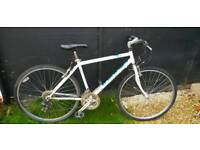 "Viking mens hybrid bike 19"" large"