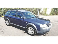 Audi A6 Allroad 2.5 TDI Quattro 5dr 2003 (Low Millage (only 110700) and Full service history)