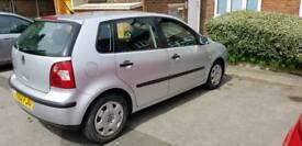 VW Polo 1.2 5dr Silver Low Mileage 73K cheap Insurance !BARGAIN!