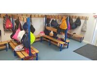 Changing Room Benches / School Pegs
