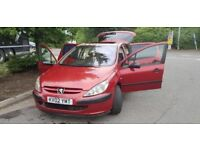 PEUGEOT 307 STYLE HDi,1year mot ONE OWNER CAR,TINTED WINDOWS,SPORTS EXHAUST £680 call on 07903496696