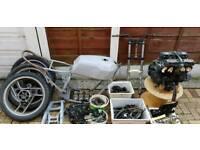 Yamaha xj600 pre diversion unfinshed project