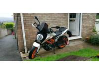 Ktm duke 390.. Plus £500 of extras