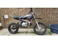 Yx125 pitbike