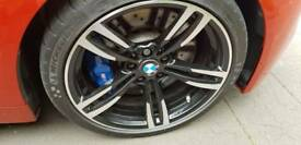 Bmw m4 alloys (with tyres)