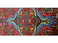 Oriental hand knotted wool rug 120x 78 cm