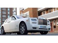 Wedding Car Hire, Rolls Royce Phantom Hire, Rolls Royce Ghost Hire, Limousine Hire, Rolls-Royce Hire