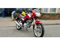 SUZUKI GSX 125 2008 (58) RED WITH ONLY 6880 MILES!! not cbr ybr cbf yzfr gn en