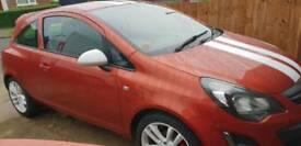 Vauxhall corsa 1.2 sting 2014