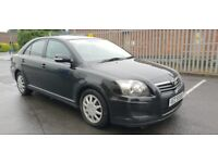LATE 2008 TOYOTA AVENSIS T2 1.8 PETROL 72000 MILES