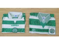 Two Celtic Tops Size Large (used)
