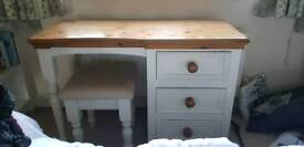 Dressing Table, comes with stool