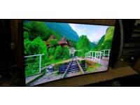 "Samsung UE55HU7100 55"" Curved 4K Ultra HD Smart Freeview Freesat HD LED"