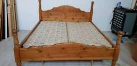 Super Kingsize Solid Pine Bed