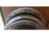 3x 27.5 MTB Tyres