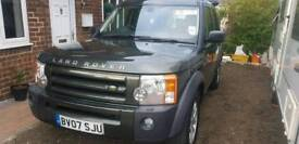 Landrover discovery 3 xs