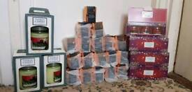 Joblot of YANKEE CANDLES and RALPH LAUREN scented candles for sale