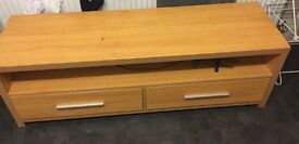 Wooden sideboard.. used condition has a slight crack on top does not effect use