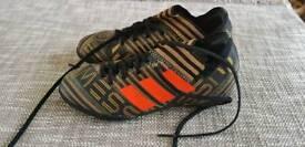 Boys size 1 football boots