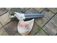 Ryobi petrol leaf blower & vac