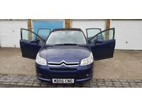 BLUE COLOURED CITROEN C4 IN A VERY GOOD CONDITION. QUICK SALE
